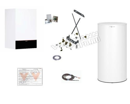 Пакетное предложение Viessmann: котел Vitodens 200-W B2HF 25 кВт + бойлер Vitocell 300-W EVIA-A 200 л | Z021566