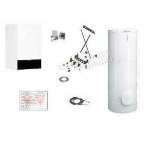 Пакетное предложение Viessmann: котел Vitodens 200-W B2HF 32 кВт + бойлер Vitocell 300-W EVIA-A 300 л | Z021569