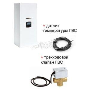 Электрокотел Vitotron VMN3-24 + комплект подключения бойлера
