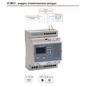 Модуль управления отопительным контуром для электрокотлов Vitotron 100