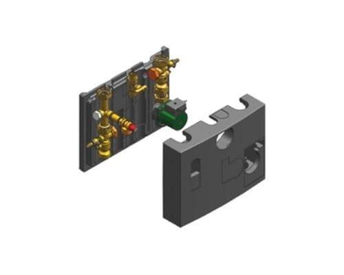 Группа подключения труб 45/60 кВт