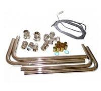 Комплект подключений для подставного емкостного водонагревателя с котлом