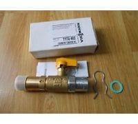 Газовый проходной кран G3/4 x Rp1/2 mit TAE