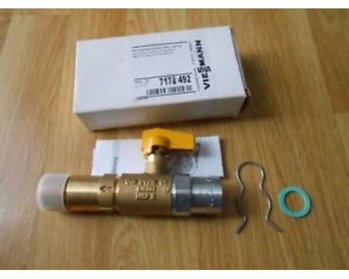 Газовый проходной кран G3/4 x Rp1/2 mit TAE 7178492