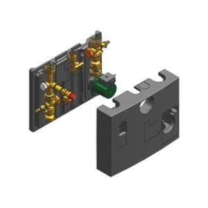 Комплект подключения отопительного контура Vitodens 200-W с 3-х ступенчатым насосом Viessmann № 7247341