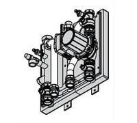 Комплект подключения емкостного водонагревателя Vitodens 200 80-100 кВт