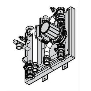 Комплект подключения емкостного водонагревателя Vitodens 200 80-100 кВт Viessmann № 7348934