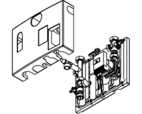 Комплект подключения отопительного контура Vitodens 200-W,B2HA 45-60 кВт 7501311