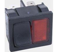 Клавишный переключател с сигнальной лампой