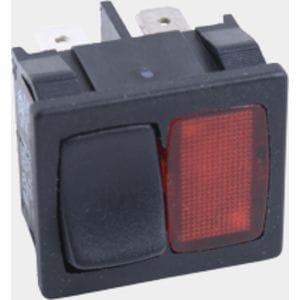 Клавишный переключател с сигнальной лампой Viessmann № 7380260