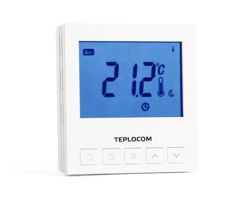 Проводной терморегулятор TEPLOCOM TS-Prog-220/3A