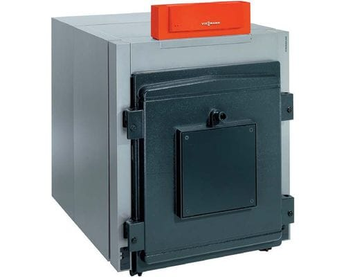 Котел Vitorond 200 с Vitotronic 100 тип CC1E мощностью 125 кВт, блок